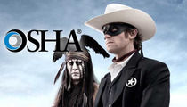 'The Lone Ranger' -- Government Org. Investigating Death On Set