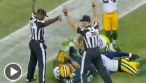 Green Bay Packers T.J. Lang -- Curses Out Refs, Dares NFL to Fine Him
