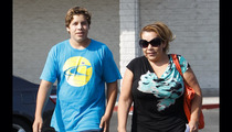 Arnold Schwarzenegger's Secret Son -- Walking (Very) Tall Before Dad's Book Release