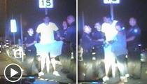 Matt Barnes Arrest Video -- 'You're The F**king Fa**ot Who Followed Me'