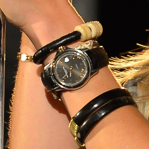 Guess whose watch says 9:56?