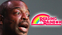 LeVar Burton OUTRAGED Over Mitt Romney's PBS Attack -- He's Destroying Our Children