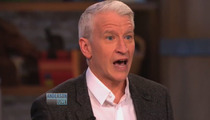 Anderson Cooper DESTROYS Star Jones -- Gay Announcement Was No Ratings Ploy