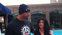 Bautista -- Prepping for MMA Fight ... with 'Real Housewives' Star Teresa Giudice