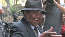 Joe Jackson Almost Arrested in Vegas -- NOT Ready for His Close-Up