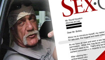 Hulk Hogan -- HUGE Offer for Sex Tape