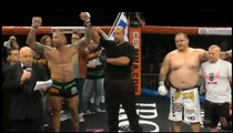 Bautista's MMA Debut -- FIRST ROUND VICTORY