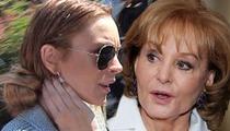 Lindsay Lohan -- I'm Sitting Down with Barbara Walters