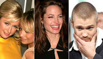 I Just GOTTA KNOW! -- Paris, Angelina and Chad Michael Murray