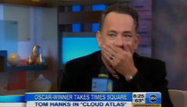 Tom Hanks Drops F-Bomb on 'Good Morning America'
