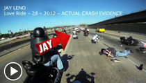 Jay Leno -- CRAZY Motorcycle Crash Footage Surfaces