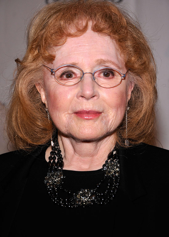 Piper Laurie resurfaced looking angelic.