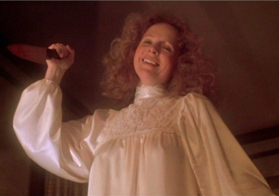 """Piper Laurie is best known roles was playing Sissy Spacek's overly-bearing religious mother Margaret White in the 1976 freaky film """"Carrie."""""""