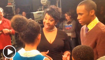 Gladys Knight Takes 'First Family' Kids to Singing School