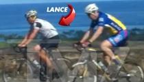 Lance Armstrong -- I'M BACK ON MY BIKE