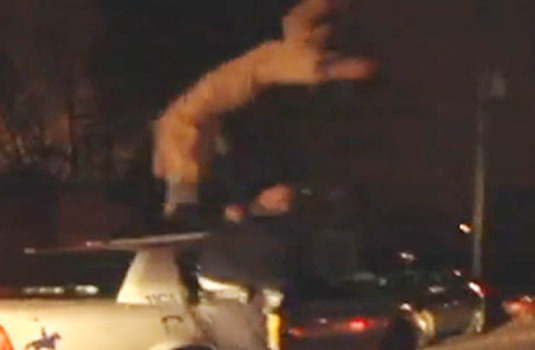 Ghostbuster ARRESTED for Backflipping Off Cop Car -- You Stupid Idiot