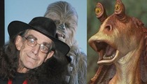 Chewbacca & Jar Jar Binks -- The Force is Strong with Disney