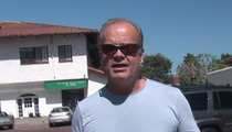 Kelsey Grammer -- We Took Baby to Party ... Cause We Couldn't Find a Sitter!!!