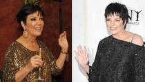 Kris Jenner with a Z