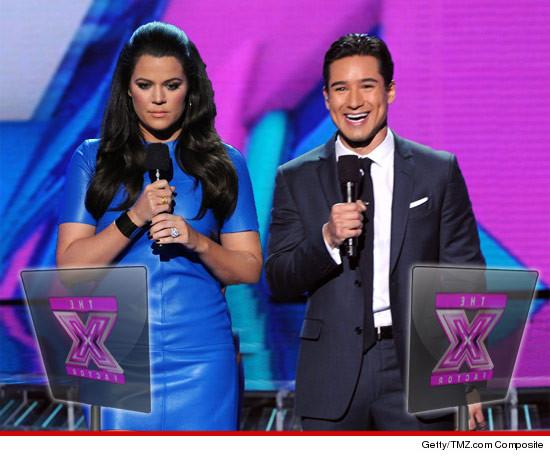 Mario Lopez Jacked Khloe Kardashians Lines Because of X Factor Chaos