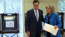 Mitt Romney Casts His Vote ... for Mitt Romney