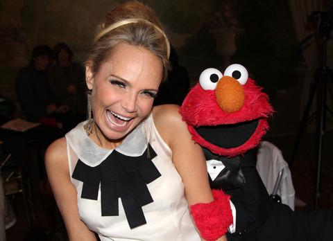 Elmo with Kristin Chenoweth