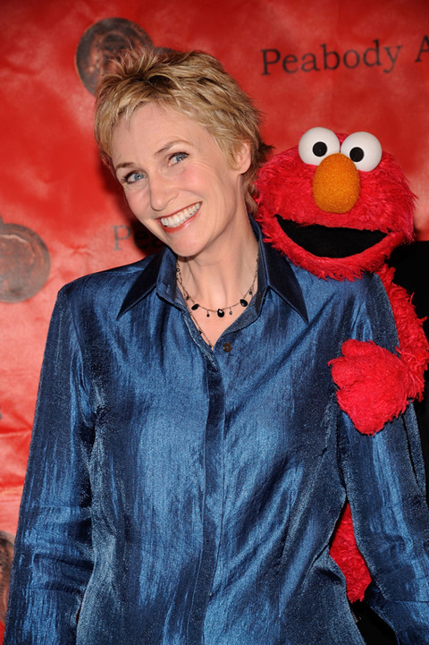 Elmo with Jane Lynch
