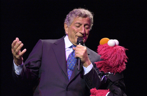 Elmo with Tony Bennett