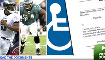 Suit Says NFLer McNabbed Disabled Kid's Space