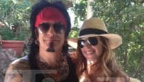 Nikki Sixx -- The GIGANTIC Diamond Engagement Ring