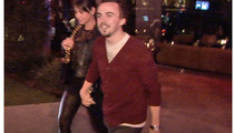 Frankie Muniz and GF -- Public Display of Affection