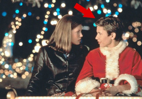 """Jonathan Taylor Thomas plays a college student trying to get home for the holiday in the film """"I'll be Home for Christmas."""""""