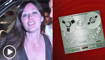 Shannen Doherty 911 Call -- Hi, I'm Famous ... And My Fan's Suicidal