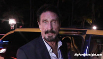 John McAfee Returned to Homeland -- Miami