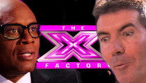 Simon Cowell -- LOSES $20k 'X Factor' Bet to L.A. Reid