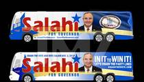 Tareq Salahi -- Campaigning for Governor on Barack Obama's Dubs