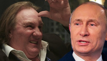 Gerard Depardieu -- Screw France ... I'm RUSSIAN Now!!