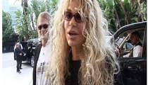 Dyan Cannon -- Lakers Official Brownie Noser