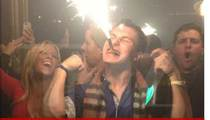 Johnny Manziel -- Popping Dom Perignon After Cotton Bowl Win [Photos]