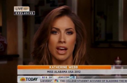 Katherine Webb -- ESPN Should NOT Have Apologized Ogling