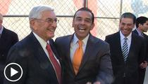 L.A. Mayor Villaraigosa -- SQUIRMS Over Charlie Sheen Encounter