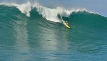Hot Surfer Chick Catches Huge Wave -- Famous Butt Unscathed
