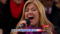 Kelly Clarkson -- Sorry Beyonce, I Sang LIVE at Inauguration