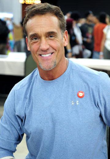 John Wesley Shipp was spotted in Florida looking quick.