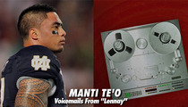 Manti Te'o -- Releases VOICEMAILS from 'Lennay Kekua'