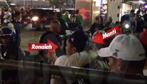 Manti Te'o & Ronaiah Tuiasosopo -- Most Awkward Hug in the Universe [VIDEO]