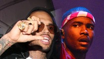 Chris Brown and Frank Ocean -- Huge Fight at Recording Studio