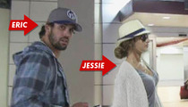 NFL Star Eric Decker & Fiancee -- Secretly the Hottest Couple at the Super Bowl