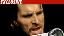 Christian Bale Rant -- Bale Went Ballistic