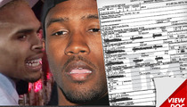 Frank Ocean -- I Was Called a 'F**got' During Chris Brown Fight